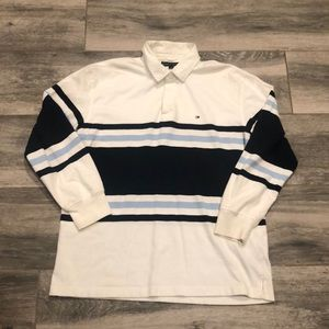 Tommy Hilfiger ColorBlock Long Sleeve Polo